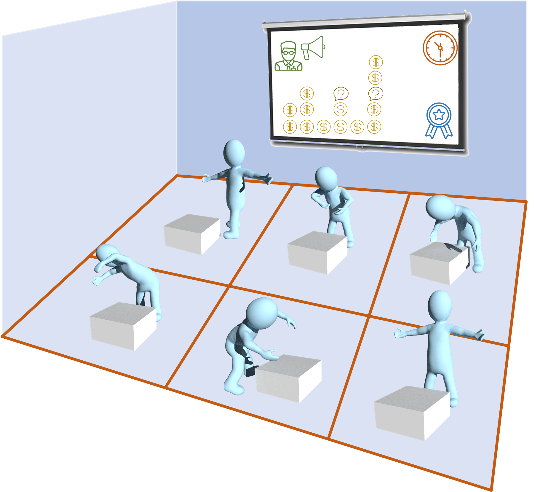 Cyber physical training studio